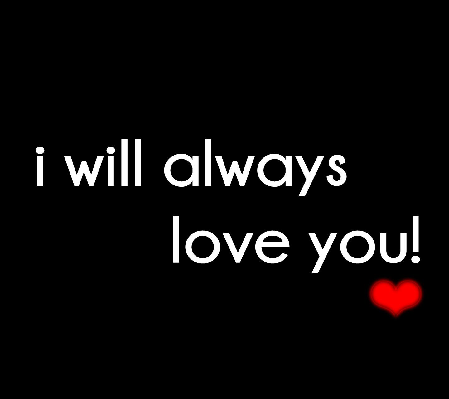 Download Always love you hd wallpaper for laptop - Abstract