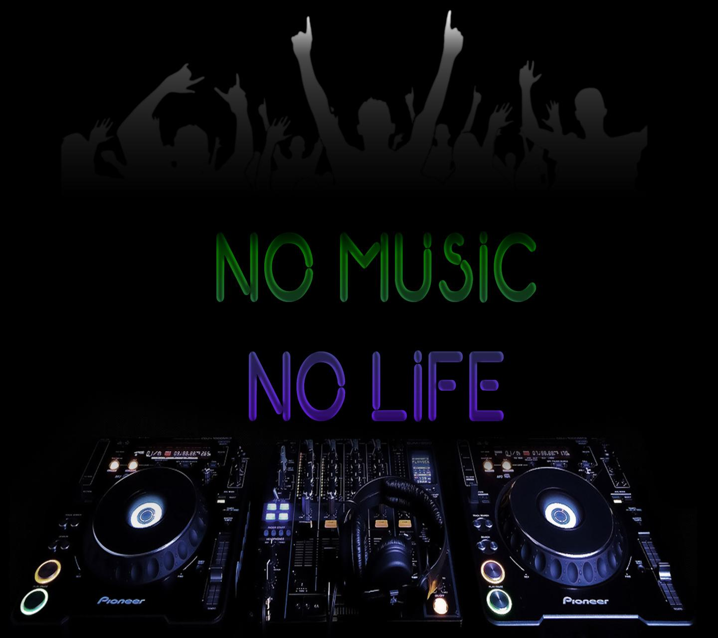 Download no music no life hd wallpaper for laptop saying quote wallpapers for your mobile cell - Music is life hd ...