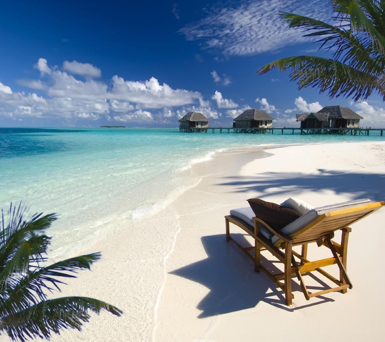 Desktop Wallpaper Hd Beach: Download Malediven Beach Hd Wallpaper For Laptop