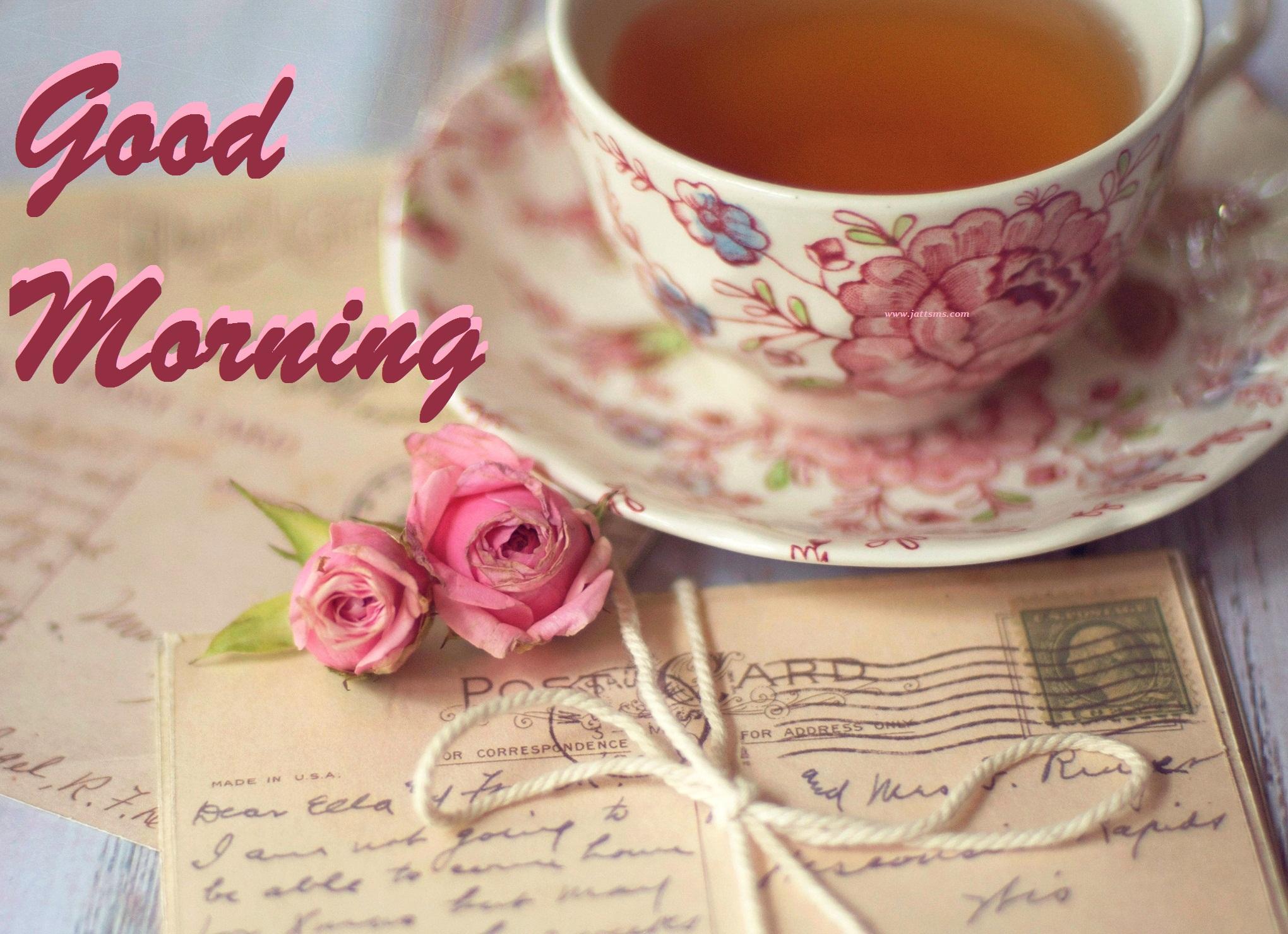 Download Romantic Coffee Good Morning Wallpaper Good Morning
