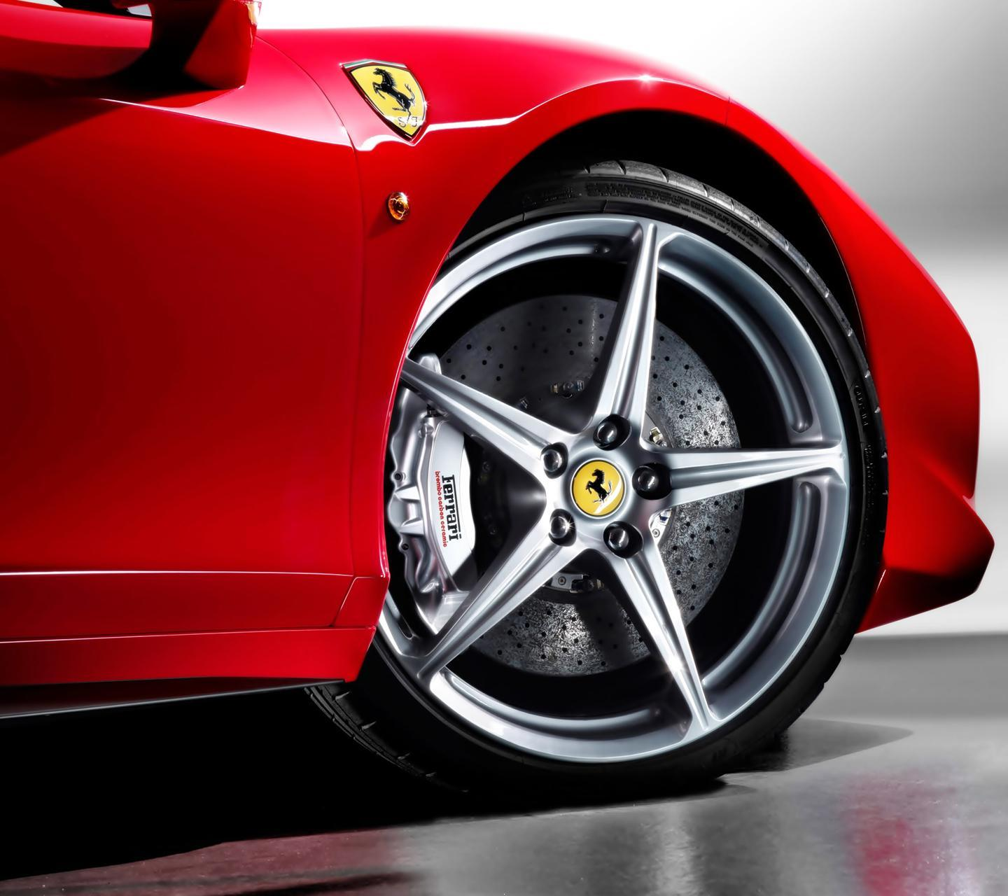 Download Red Ferrari Cars Wallpapers For Your Mobile Cell Phone