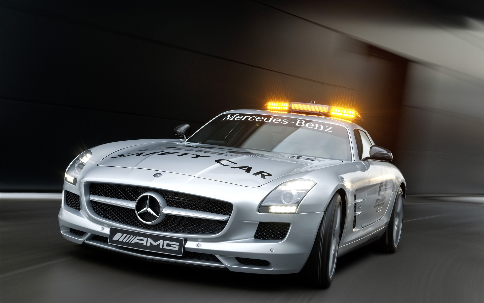 Download 2010 Mercedes Benz Sls Amg F1 Safety Car Cars Wallpapers