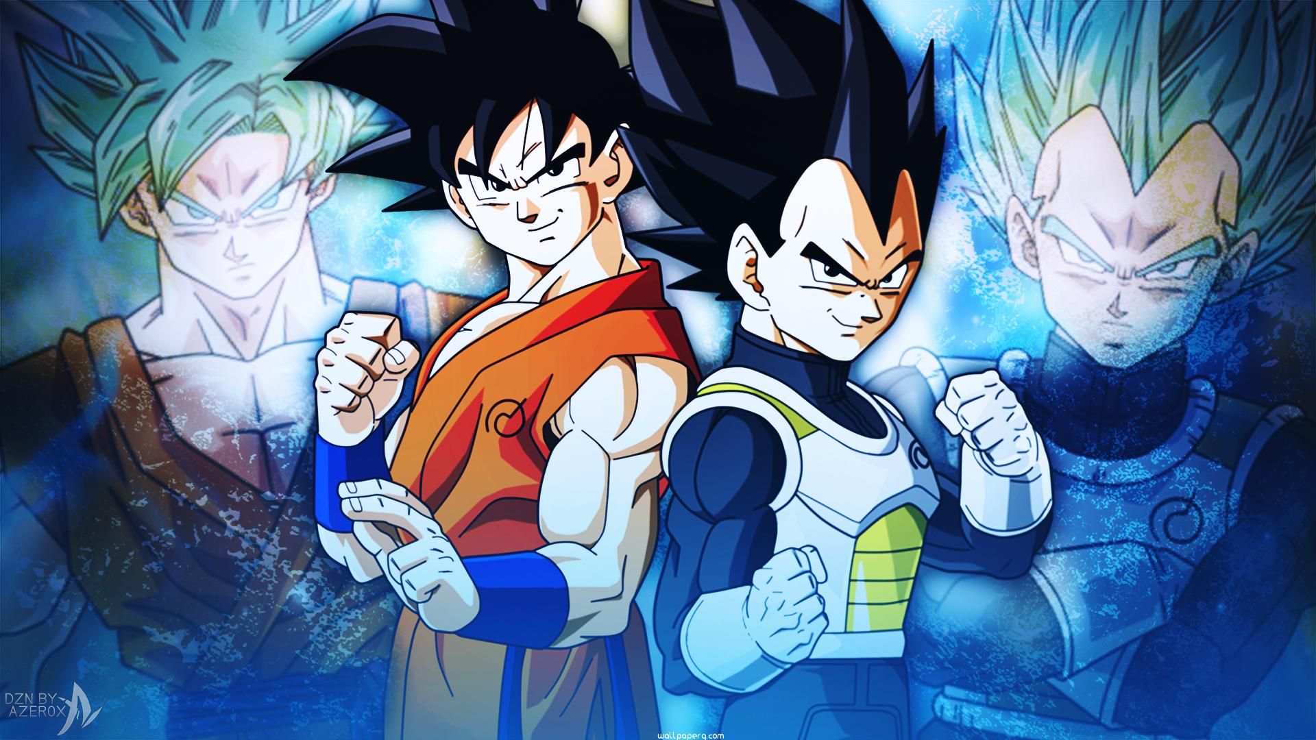 Download goku and vegeta dragon ball super dragon ball z - Vegeta wallpapers for mobile ...