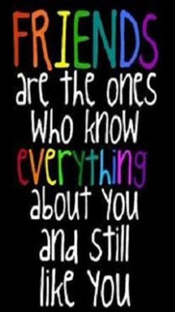 Download Friends 1 - Saying quote wallpapers for your mobile cell ...