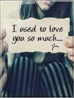 Download I used to love you so much - Romantic wallpapers ...