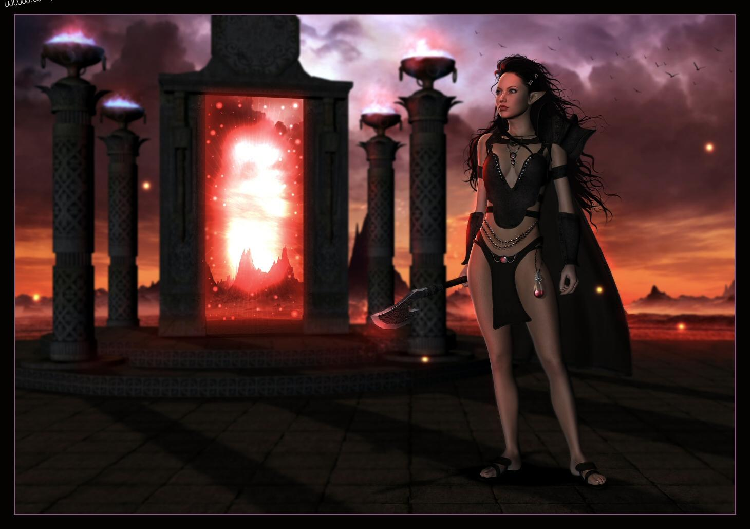 Gallery the dark elf lover 3d pic  hentia scenes