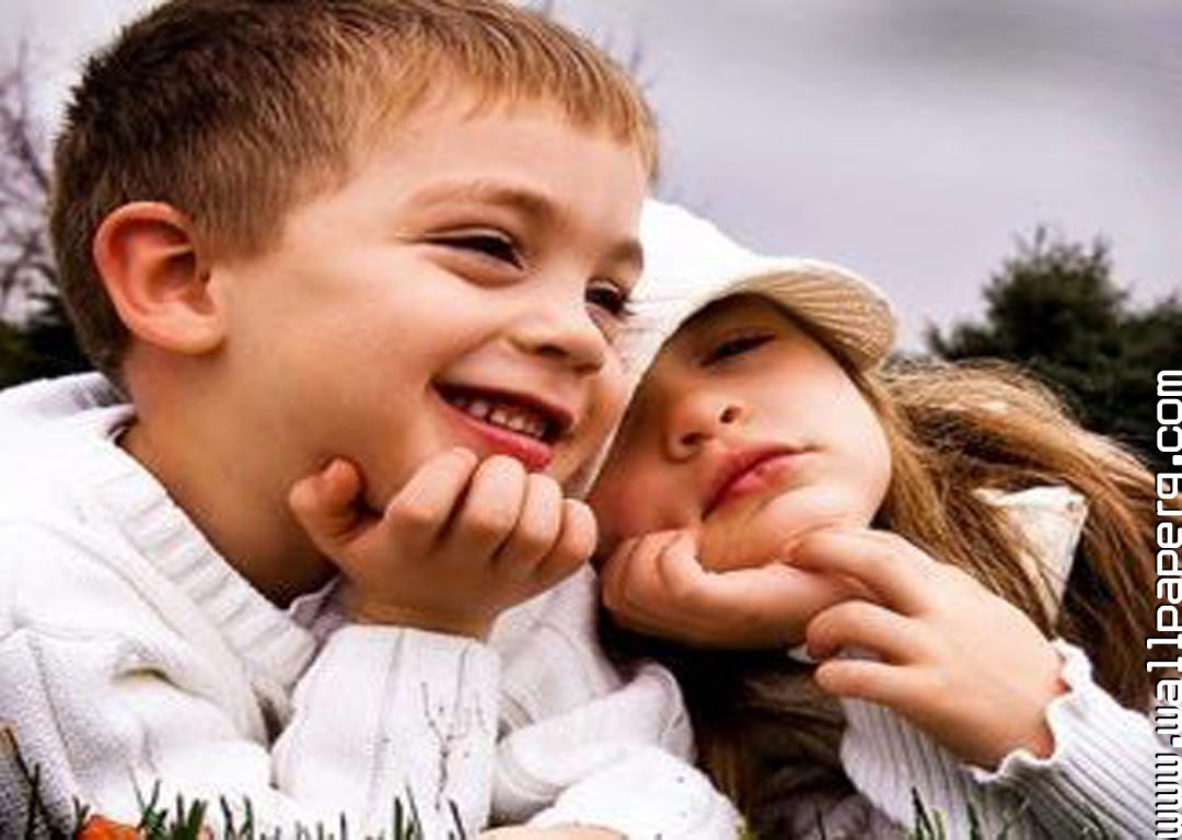 Cute baby couple images for dp